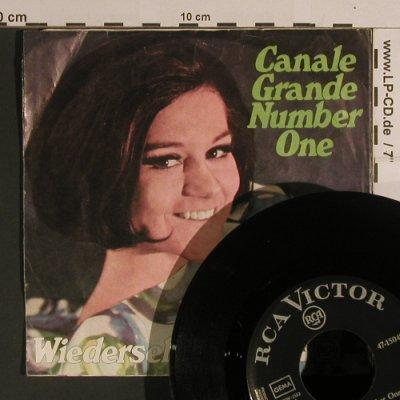 March,Peggy: Canale Grande Nr.1 / Wiedersehn, RCA Victor(47-15 048), D,m-/vg+,  - 7inch - S8293 - 3,00 Euro