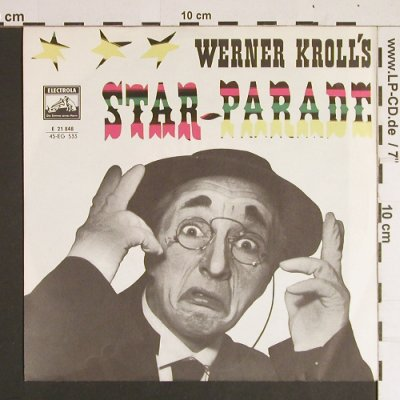 Kroll's,Werner: Star-Parade - Starlets&A.Luczkowski, Electrola(E 21 848), D,  - 7inch - S8551 - 3,00 Euro
