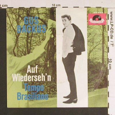Backus,Gus: Auf Wiederseh'n / Tempo Brasiliano, Polydor(24 484), D, vg--/m-, 1961 - 7inch - S8790 - 2,50 Euro