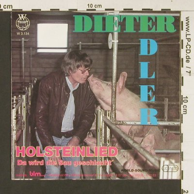 "Edler,Dieter ""Dieter"": Holsteinlied(instrumental), World-Sound-Records(W3.134), D,  - 7inch - S8869 - 3,00 Euro"