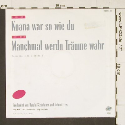 Nicki: Koana war so wie du, Piccobello(111971-100), D, 1988 - 7inch - S9972 - 2,50 Euro