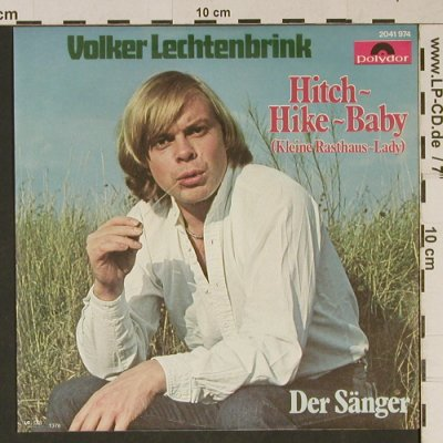 Lechtenbrink,Volker: Hitch-Hike-Baby, Polydor(2041 974), D, 1977 - 7inch - T1019 - 2,50 Euro