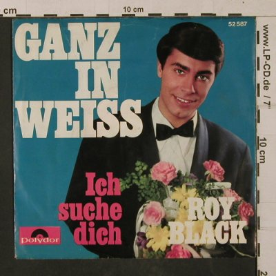 Black,Roy: Ganz in Weiss, Polydor(52 587), D, 1965 - 7inch - T1197 - 2,50 Euro