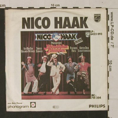 Haak,Nico: Stepper-Teddy, Philips(6012 727), D, 1977 - 7inch - T1391 - 2,50 Euro