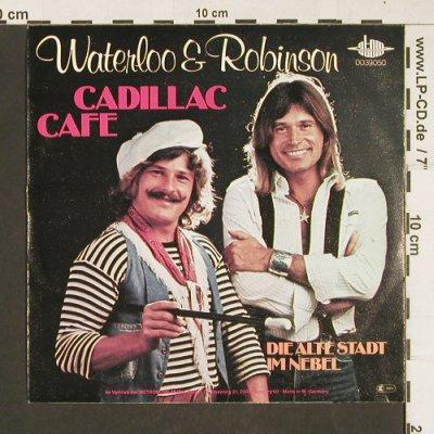 Waterloo & Robinson: Cadillac Cafe, Atom(0039.050), D, 1977 - 7inch - T16 - 1,50 Euro
