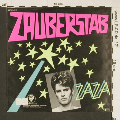 Zaza: Zauberstab*2 (NDW), Blow Up(INT 110.509), D, 1982 - 7inch - T187 - 2,50 Euro