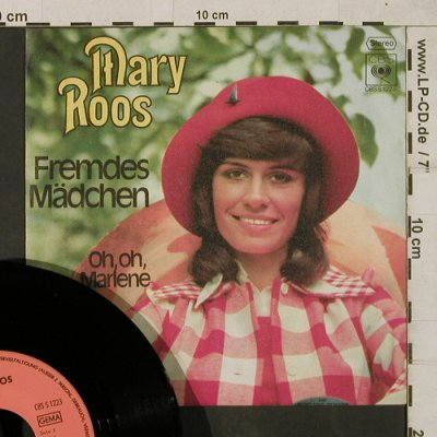 Roos,Mary: Fremdes Mädchen / Oh,Oh,Marlene, CBS Blitzinfo.(CBS S 1223), D,  - 7inch - T1883 - 4,00 Euro