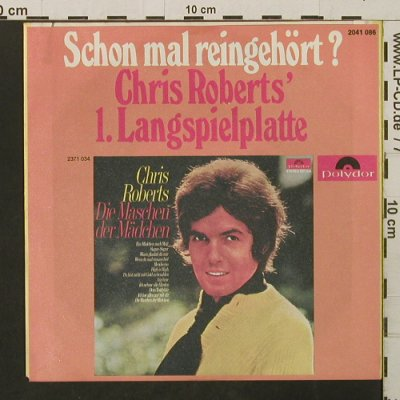 Roberts,Chris: IchBinVerliebtInDieLiebe-Diff.Cover, Polydor(2041 086), D, 1970 - 7inch - T2783 - 2,50 Euro