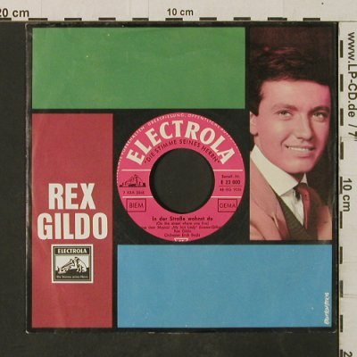 Gildo,Rex: On The Street Where You Live, KLC, Electrola(E 22 000), D, m-/vg+,  - 7inch - T3017 - 1,50 Euro