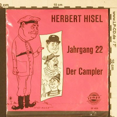 Hisel,Herbert: Jahrgang 22 / Der Campler, Tempo(EP 4131), D,  - EP - T355 - 3,00 Euro