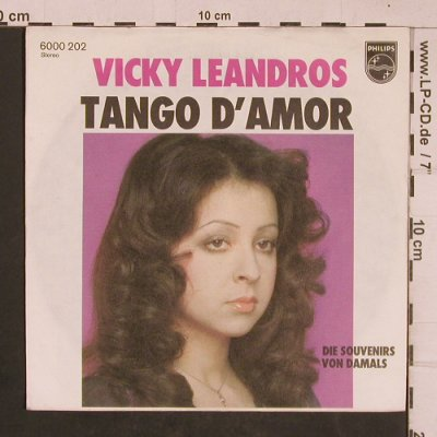 Leandros,Vicky: Tango D'Amor, Philips(6000 202), D, 1976 - 7inch - T4608 - 3,00 Euro