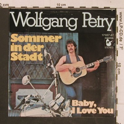 Petry,Wolfgang: Sommer in der Stadt/Baby,I love you, Hansa(17 027 AT), D, 1976 - 7inch - T4624 - 3,00 Euro