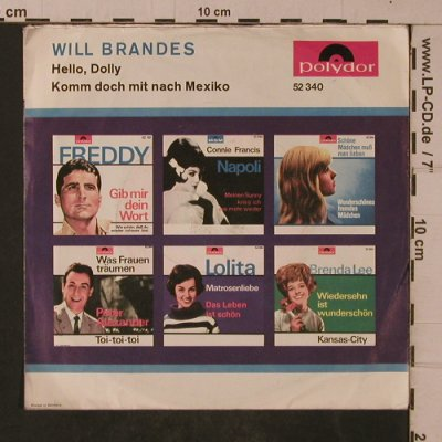 Brandes,Willy: Hello, Dolly, Polydor(52 340), D,  - 7inch - T4715 - 3,00 Euro