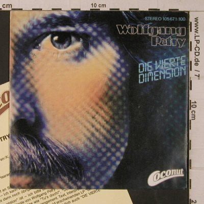 Petry,Wolfgang: Die Vierte Dimension, Coconut(105 671-100), D, 1983 - 7inch - T4765 - 2,50 Euro