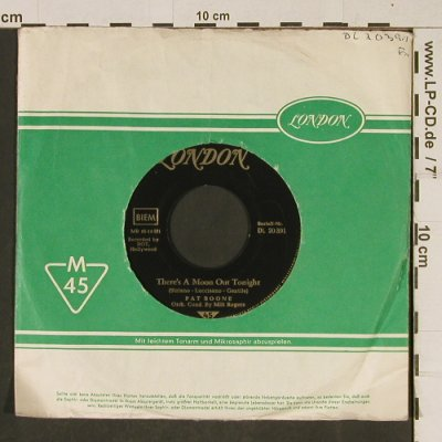 Boone,Pat: The Exodus Song/There's a moon, London, LC(DL 20 391), D,vg+/vg+,  - 7inch - T595 - 3,00 Euro