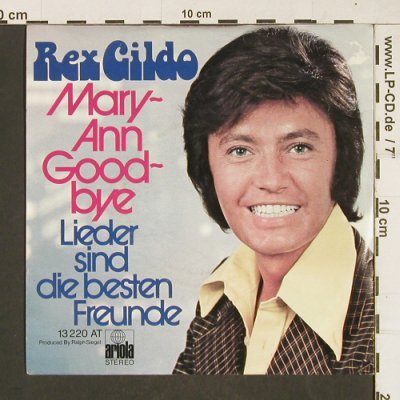 Gildo,Rex: Mary-Ann Good-Bye, Ariola(13220 AT), D,  - 7inch - T85 - 2,00 Euro