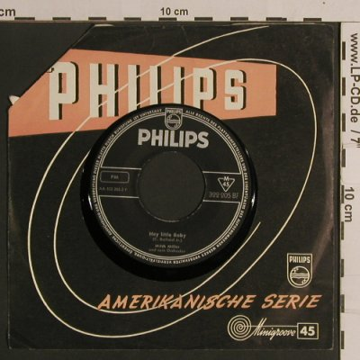 Miller,Mitch - Colonel Bogey: River Kwai March / Hey Little Baby, Philips(322 205 BF), D FLC,  - 7inch - S8337 - 2,50 Euro