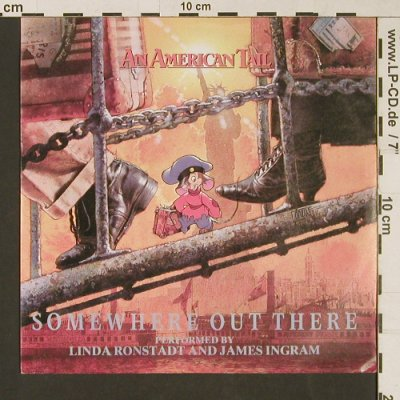 An American Tail: Ronstadt,Linda and Ingram,James, MCA(258 494-7), D, 1986 - 7inch - S9415 - 2,50 Euro