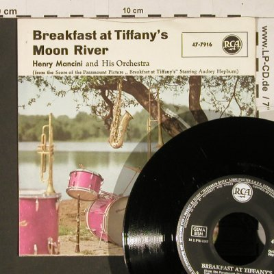 Mancini,Henry: Moon River / Breakfast at Tiffany's, RCA(47-7916), D,  - 7inch - S9783 - 3,00 Euro