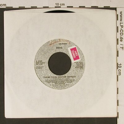 Doctor Detroit: Devo/James Brown:King of Soul, Backstreet,Promo stol(BSR-52215), US,LC, 1983 - 7inch - T1025 - 2,50 Euro