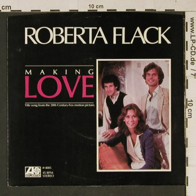 Making Love: Making Love/Jesse ,by Roberta Flack, Atlantic(4005), US, 1982 - 7inch - T1064 - 2,00 Euro