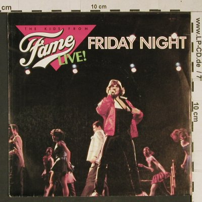 Fame: Friday Night by the Kids from Fame, RCA(RCA 320), UK, 1983 - 7inch - T1066 - 2,00 Euro