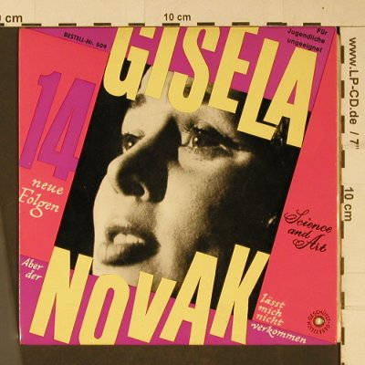 Gisela: Der Novak, IV.Folge, vg+/m-, Science and Art(509), A,  - 7inch - T1087 - 2,50 Euro