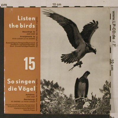Listen The Birds 15: So singen die Vögel, John Kirby, HDV 16(), D,  - EP - T1149 - 4,00 Euro