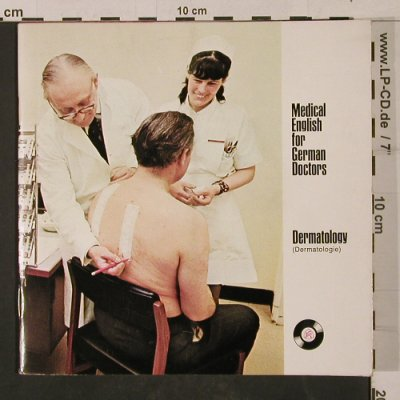 Medical English for German Doctors: Dermatology, Foc, Iruxol/Knoll AG(12), D,Booklet,  - 7inch - T1177 - 4,00 Euro