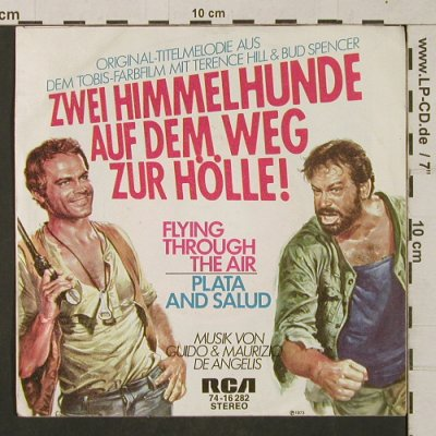 Zwei Himmelhunde Auf dem Weg...: Flying Through The Air, RCA(74-16 282), D, 1973 - 7inch - T1318 - 3,00 Euro