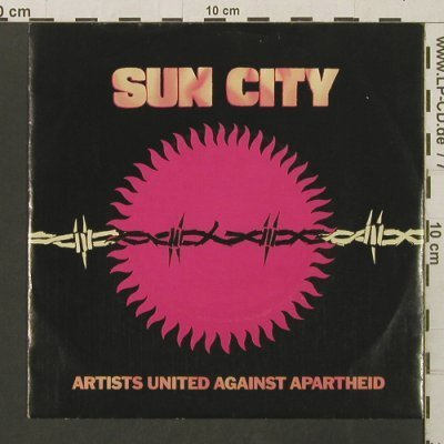 Sun City Artists Un. Against Aparth: Sun City / Not So Far Away, Manhattan(20 0927 7), D, 1985 - 7inch - T2786 - 2,00 Euro