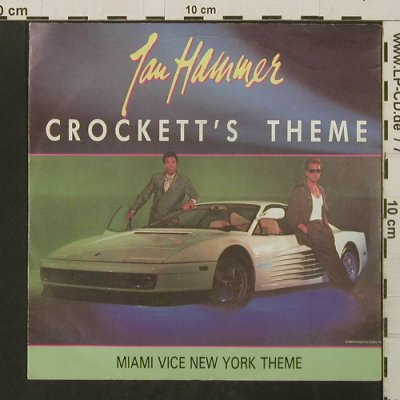 Miami Vice - Hammer,Jan: Crockett's Theme / New York Theme, MCA(258 360-7), D, 1986 - 7inch - T2787 - 2,00 Euro