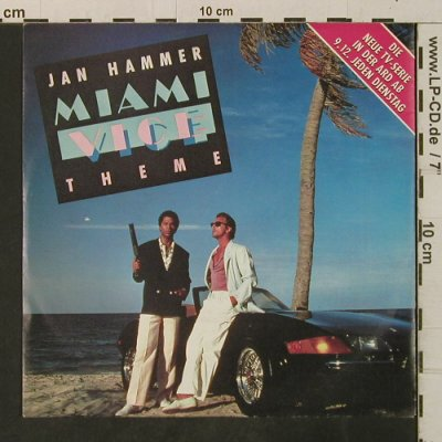 Miami Vice - Hammer,Jan: Miami Vice Theme*2/ TV Version, MCA(258 843-7), D, 1985 - EP - T3365 - 2,50 Euro