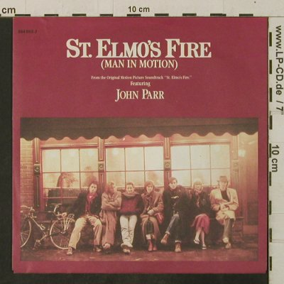 St.Elmos Fire: Soundtrack by John Parr, Mercury(884 003-7), D, 1984 - 7inch - T3442 - 2,00 Euro