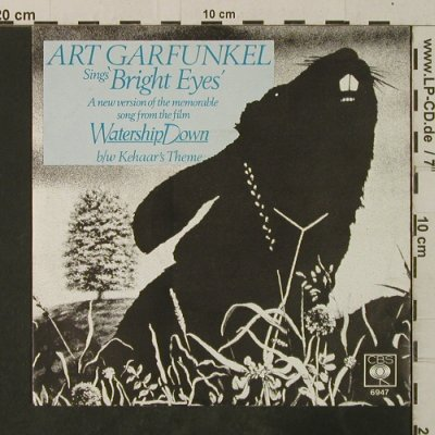Watership Down - Art Garfunkel: Bright Eyes, CBS(6947), D, 1978 - 7inch - T3733 - 2,50 Euro
