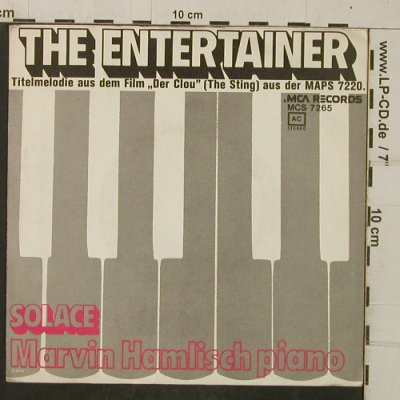Hamlisch,Marvin: The Entertainer, The Sting, MCA, Promo(MCS-7265), D, 1974 - 7inch - T4056 - 3,00 Euro