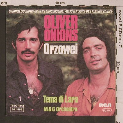 Onions,Oliver: Orzowei, RCA(26.11489), D, 1976 - 7inch - T5323 - 3,00 Euro