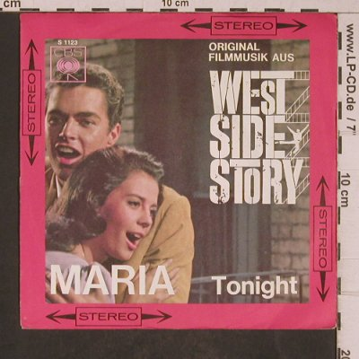 West Side Story: Maria / Tonight, CBS(S 1123), D,  - 7inch - T5352 - 3,00 Euro