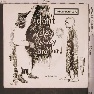 Autonome Jugendschaft/M.Adler: Don't stay away brother+3,vg+, Thorofon Nr.4(T 72 843), D,  - EP - T5395 - 6,00 Euro
