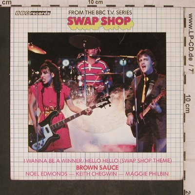 Swap Shop: Brown Sauce, Intercord/BBC records(INT 113.006), D, 1981 - 7inch - T5455 - 3,00 Euro
