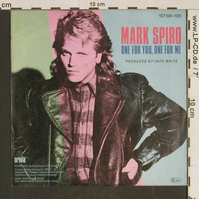Spiro,Mark: Wind of Change - WDR Tatort, Ariola(107 561-100), D, 1985 - 7inch - T565 - 3,00 Euro