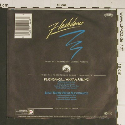 Flashdance: Flashdance... What a Feeling, Casabl.(811 440-7), D, 1983 - 7inch - T727 - 2,00 Euro