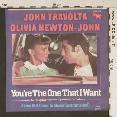 Travolta,John/O.Newton-John-Grease: You're the one that I want, RSO(2090 279), D, 1978 - 7inch - T974 - 2,50 Euro