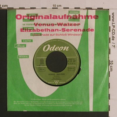 Goodwin,Ron and his Orch.: Venus Walzer/Elizabethan-Serenade, Odeon(O 21 527), D, FLC,  - 7inch - S7954 - 2,50 Euro