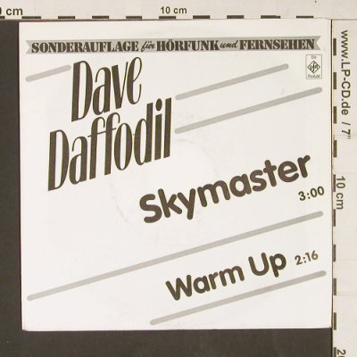 Daffodil,Dave: Skymaster / Warm Up, Ariola UfA(112 552), D,Promo, 1999 - 7inch - S9092 - 3,00 Euro