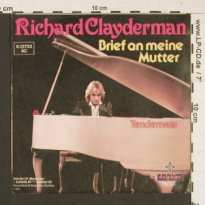Clayderman,Richard: Brief an meine Mutter, Telefunken(6.12753 AC), D, 1979 - 7inch - S9305 - 3,00 Euro