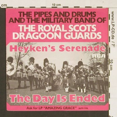 Military Band Of The Royal Scots: Heyken's serenade, RCA(74-16 207), D, 1972 - 7inch - S9480 - 3,00 Euro