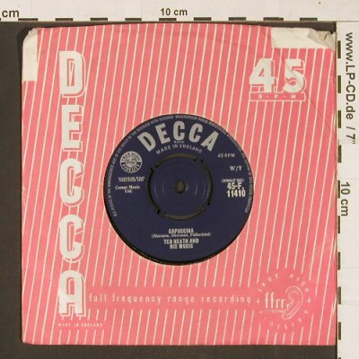 Heath,Ted: Capuccina / Tonight, vg+/vg+, Decca(45-F 11410), UK, FLC,  - 7inch - S9789 - 2,00 Euro