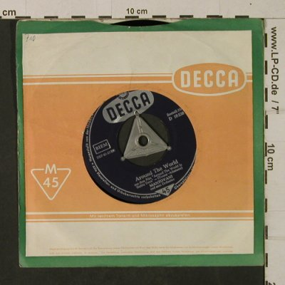 Mantovani: Around the World/The Heart of Budap, Decca(D 18 538), D,m-/vg+,  - 7inch - T2036 - 2,50 Euro