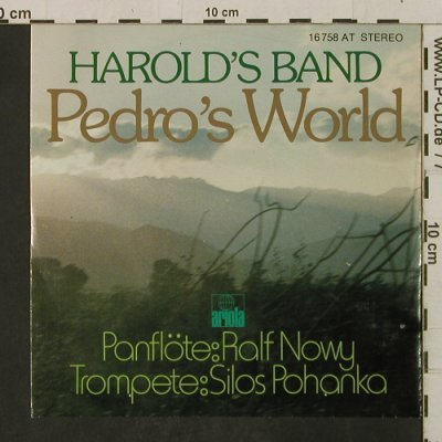 Harold's Band: Pedro'sWorld (Panfl.-u.Tromp-Vers), Ariola(16 758 AT), D,  - 7inch - T2300 - 2,00 Euro